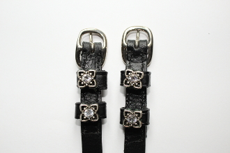 Small Square Spur Straps